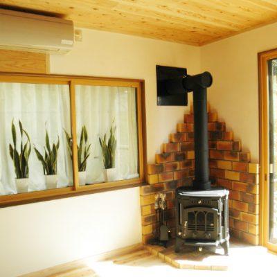 行橋市 薪ストーブのある温かい家