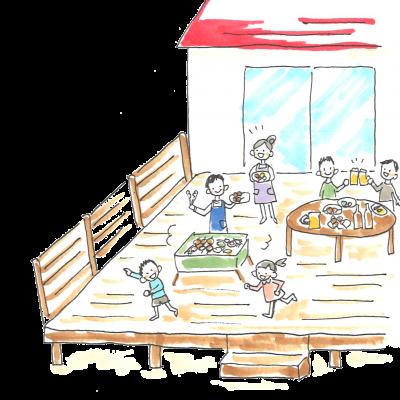ウッドデッキを作る際の注意点